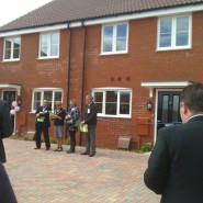 The Opening of Snowberry Close